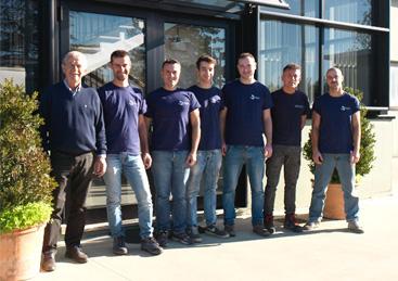 Il Team di Modelleria Ferrieri testo alt
